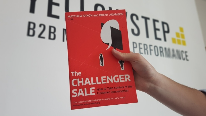 The Challenger Sale - B2B Sales book