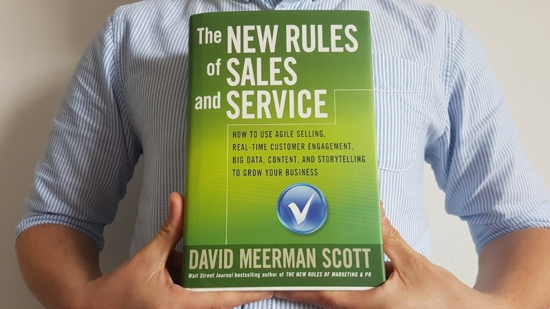 The New Rules of Sales and Service - B2B sales book