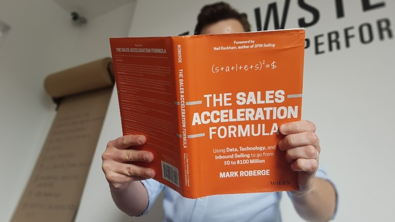 The Sales Acceleration Formula - B2B sales book