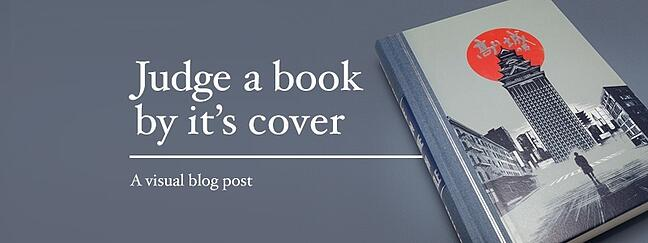 Judge a book by it's cover: 11 great visuals