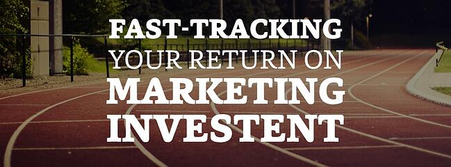 Fast tracking your return on marketing investment (ROMI) beyond 2017