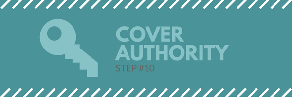 Sales call agenda step 10 - cover authority