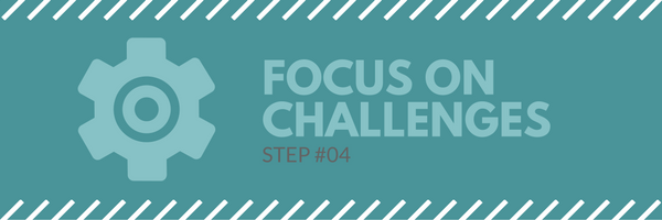 Sales call agenda step 4 - focus on challenges