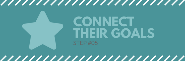 Sales call agenda step 5 - connect their goals