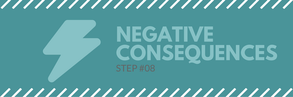 Sales call agenda step 8 - negative consequences