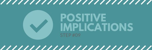 Sales call agenda step 1 - positive implications