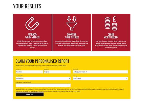 Assess your digital marketing performance with our free tool