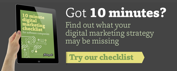 Digital marketing checklist